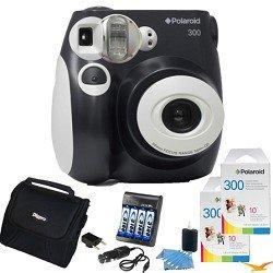 best price cheap polaroid 300 instant camera, black value